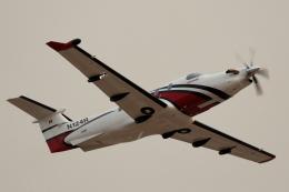 キャスバルさんが、フェニックス・スカイハーバー国際空港で撮影したCUTTER FLIGHT MANAGEMENT PC-12/47Eの航空フォト(飛行機 写真・画像)