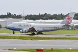 senyoさんが、成田国際空港で撮影したチャイナエアライン 747-409の航空フォト(飛行機 写真・画像)