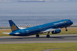 yabyanさんが、中部国際空港で撮影したベトナム航空 A321-231の航空フォト(飛行機 写真・画像)