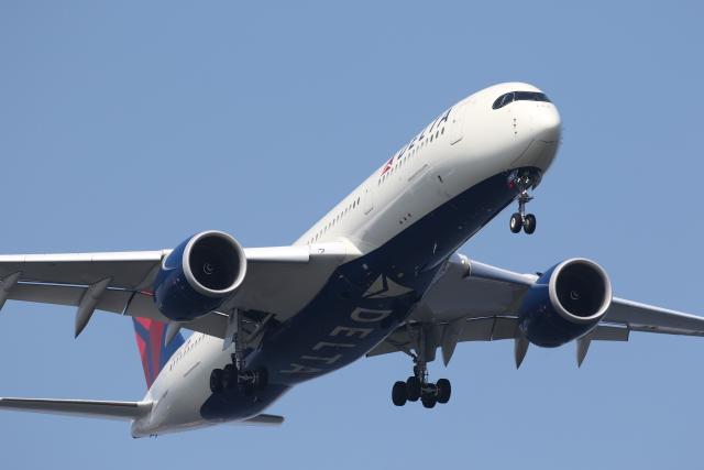 TAKA-Kさんが、羽田空港で撮影したデルタ航空 A350-941の航空フォト(飛行機 写真・画像)