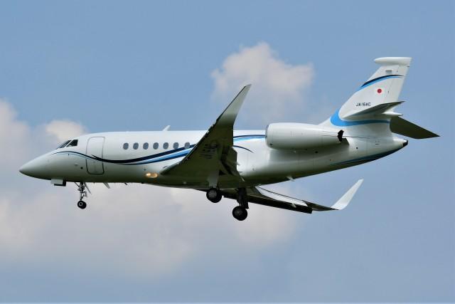 kiheiさんが、名古屋飛行場で撮影した静岡エアコミュータ Falcon 2000EXの航空フォト(飛行機 写真・画像)