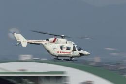 なぞたびさんが、名古屋飛行場で撮影した川崎重工業 BK117B-2の航空フォト(飛行機 写真・画像)