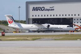 神宮寺ももさんが、那覇空港で撮影した琉球エアーコミューター DHC-8-402Q Dash 8 Combiの航空フォト(飛行機 写真・画像)