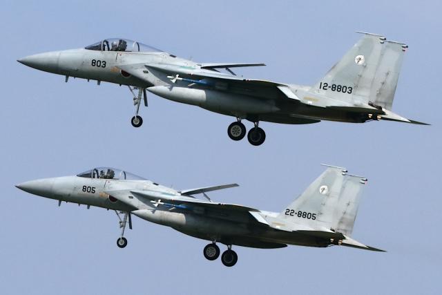 Hariboさんが、小松空港で撮影した航空自衛隊 F-15J Eagleの航空フォト(飛行機 写真・画像)