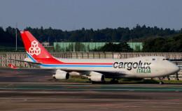 T.Kenさんが、成田国際空港で撮影したカーゴルクス・イタリア 747-4R7F/SCDの航空フォト(飛行機 写真・画像)