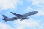 飛行機ゆうちゃんさんが、羽田空港で撮影した日本航空 767-346/ERの航空フォト(飛行機 写真・画像)