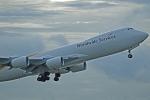 Souma2005さんが、香港国際空港で撮影したUPS航空 747-8Fの航空フォト(飛行機 写真・画像)