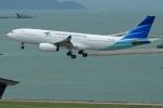 Souma2005さんが、香港国際空港で撮影したガルーダ・インドネシア航空 A330-243の航空フォト(飛行機 写真・画像)