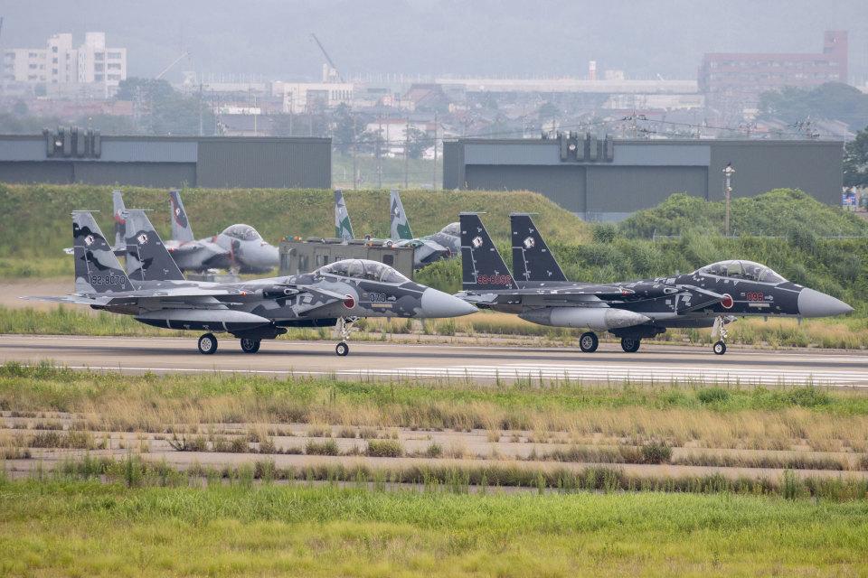 チャッピー・シミズさんの航空自衛隊 Mitsubishi F-15DJ Eagle (92-8096) 航空フォト