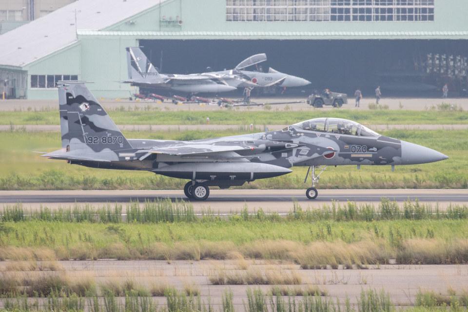 チャッピー・シミズさんの航空自衛隊 Mitsubishi F-15DJ Eagle (92-8070) 航空フォト
