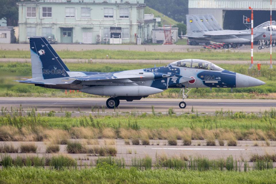 チャッピー・シミズさんの航空自衛隊 Mitsubishi F-15DJ Eagle (12-8074) 航空フォト