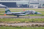 チャッピー・シミズさんが、小松空港で撮影した航空自衛隊 F-15DJ Eagleの航空フォト(飛行機 写真・画像)