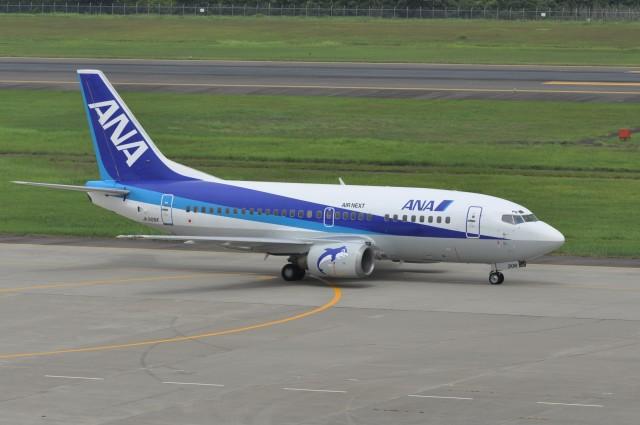 kumagorouさんが、仙台空港で撮影したエアーネクスト 737-54Kの航空フォト(飛行機 写真・画像)