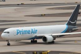 キャスバルさんが、フェニックス・スカイハーバー国際空港で撮影したアマゾン・プライム・エア 767-36N/ER(BDSF)の航空フォト(飛行機 写真・画像)