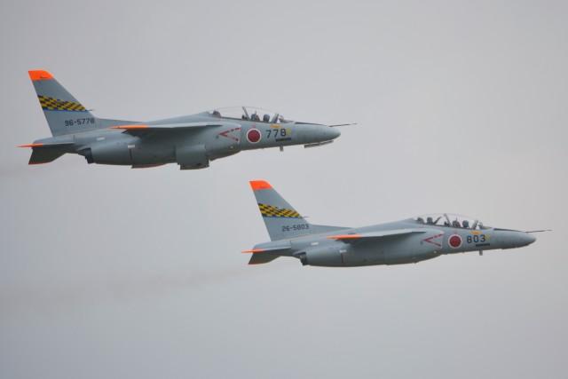 デルタおA330さんが、浜松基地で撮影した航空自衛隊 T-4の航空フォト(飛行機 写真・画像)