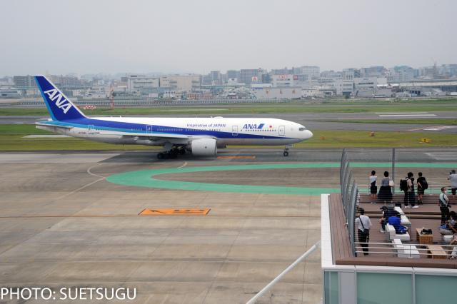 JL6DXRさんが、福岡空港で撮影した全日空 777-281/ERの航空フォト(飛行機 写真・画像)
