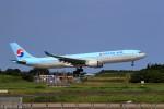 ☆ライダーさんが、成田国際空港で撮影した大韓航空 A330-323Xの航空フォト(飛行機 写真・画像)