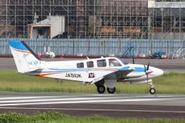 Yuseiさんが、熊本空港で撮影した崇城大学 G58 Baronの航空フォト(飛行機 写真・画像)