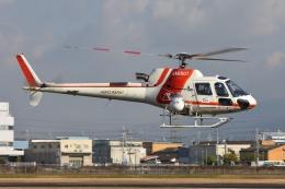 ブルーさんさんが、八尾空港で撮影した朝日航洋 AS350B3 Ecureuilの航空フォト(飛行機 写真・画像)
