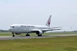 ヒロジーさんが、広島空港で撮影した日本航空 767-346/ERの航空フォト(飛行機 写真・画像)