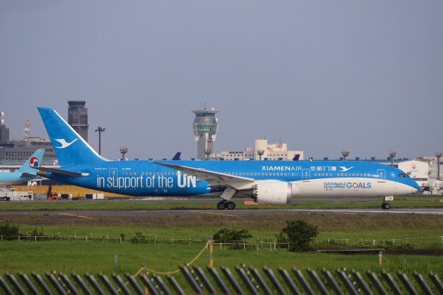 m_aereo_iさんが、成田国際空港で撮影した厦門航空 787-9の航空フォト(飛行機 写真・画像)