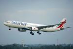 ちゃぽんさんが、成田国際空港で撮影したスリランカ航空 A330-343Xの航空フォト(飛行機 写真・画像)
