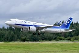 falconさんが、秋田空港で撮影した全日空 A320-271Nの航空フォト(飛行機 写真・画像)