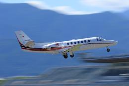 Nao0407さんが、松本空港で撮影した読売新聞 560 Citation Encore+の航空フォト(飛行機 写真・画像)