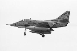 apphgさんが、厚木飛行場で撮影したアメリカ海兵隊 A-4 Skyhawkの航空フォト(飛行機 写真・画像)
