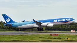 FlyingMonkeyさんが、成田国際空港で撮影したエア・タヒチ・ヌイ A340-313Xの航空フォト(飛行機 写真・画像)