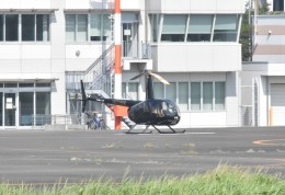 ヘリオスさんが、東京ヘリポートで撮影した日本法人所有 R44 IIの航空フォト(飛行機 写真・画像)