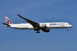 sonnyさんが、成田国際空港で撮影したカタール航空 A350-1041の航空フォト(飛行機 写真・画像)