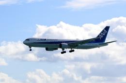 TAKAHIDEさんが、那覇空港で撮影した全日空 767-381/ERの航空フォト(飛行機 写真・画像)