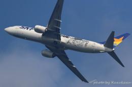 かずかずさんが、茨城空港で撮影したスカイマーク 737-86Nの航空フォト(飛行機 写真・画像)