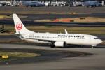 ばっきーさんが、羽田空港で撮影した日本航空 737-846の航空フォト(飛行機 写真・画像)