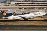 ばっきーさんが、羽田空港で撮影したルフトハンザドイツ航空 747-430の航空フォト(飛行機 写真・画像)