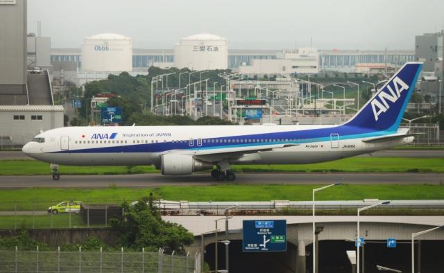 PON ちゃんさんが、羽田空港で撮影した全日空 767-381/ERの航空フォト(飛行機 写真・画像)