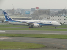 commet7575さんが、福岡空港で撮影した全日空 787-9の航空フォト(飛行機 写真・画像)