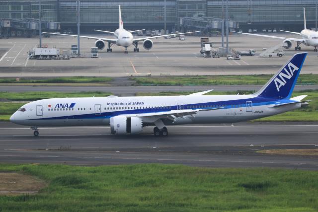 T.KITAJIMAさんが、羽田空港で撮影した全日空の航空フォト(飛行機 写真・画像)