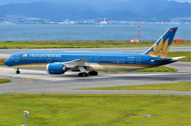 amagoさんが、関西国際空港で撮影したベトナム航空 787-9の航空フォト(飛行機 写真・画像)