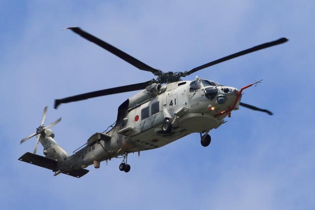 たまさんが、厚木飛行場で撮影した海上自衛隊 SH-60Kの航空フォト(飛行機 写真・画像)
