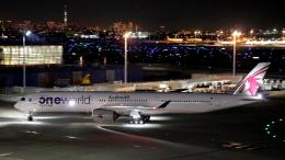 誘喜さんが、羽田空港で撮影したカタール航空 A350-1041の航空フォト(飛行機 写真・画像)