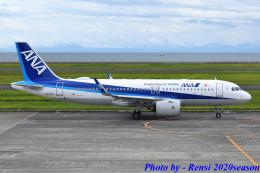 れんしさんが、山口宇部空港で撮影した全日空 A320-271Nの航空フォト(飛行機 写真・画像)