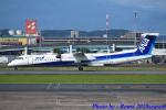 れんしさんが、福岡空港で撮影したANAウイングス DHC-8-402Q Dash 8の航空フォト(飛行機 写真・画像)