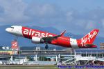れんしさんが、福岡空港で撮影したエアアジア・ジャパン A320-216の航空フォト(飛行機 写真・画像)