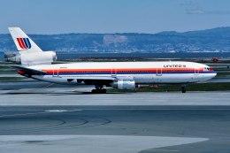 パール大山さんが、サンフランシスコ国際空港で撮影したユナイテッド航空 DC-10-10の航空フォト(飛行機 写真・画像)