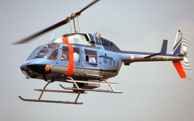LEVEL789さんが、岡南飛行場で撮影した岡山県警察 206L-3 LongRanger IIIの航空フォト(飛行機 写真・画像)