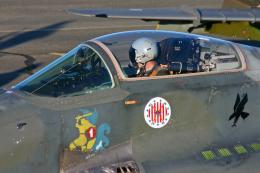 Echo-Kiloさんが、カウハバ飛行場で撮影したポーランド空軍 MiG-29Aの航空フォト(飛行機 写真・画像)