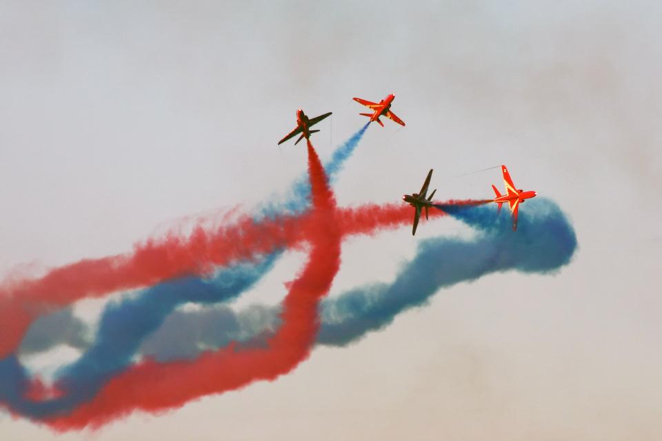 Echo-Kiloさんのイギリス空軍 BAe Hawk (XX???) 航空フォト