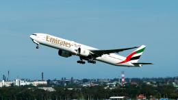 航空フォト:A6-ECM エミレーツ航空 777-300